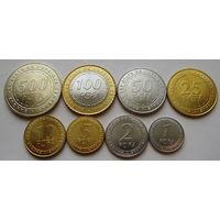 Центральная Африка. набор 7 монет 1 - 100 франков 2006 год UNC