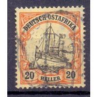 Германия Восточная Африка 20 гел Wz 1 ГАШ 1906-1920 гг
