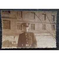Фото солдата. 5.5х8.5 см