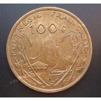Французская Полинезия 100 франков 2003г.
