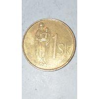 Словакия 1 крона 2002