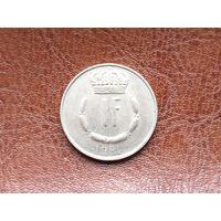 1 франк 1981 Люксимбург