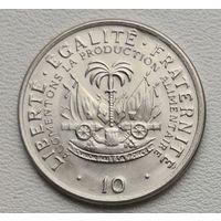 Гаити 10 центов 1975 FAO