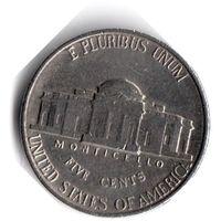США. 5 центов. 1992 P