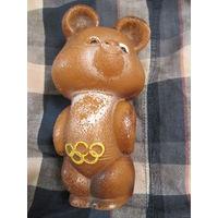 Мишка олимпийский . Пластик