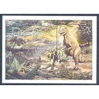 Палау 2004 Фауна. Динозавры, блок