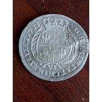 6 грошей 1755 года