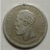 Норвегия 1 крона 1897 г