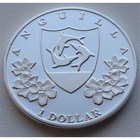 Ангилья. 1 доллар 2014 год  Unusual