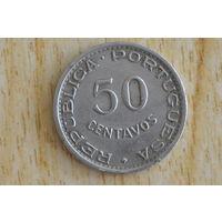 Сан-Томе и Принсипи 50 сентаво 1951