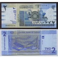 Распродажа коллекции. Судан. 2 фунта 2006 года (P-65а - 2006 Issue)