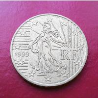 10 евроцентов 1999 Франция #02