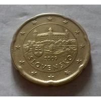 20 евроцентов, Словакия 2009 г.