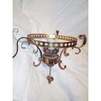 Люстра светильник латунь не комплект для восстановления или декора