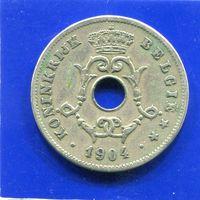 Бельгия 10 сантимов 1904 BELGIE