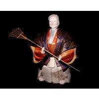 """Кукла Кимекоми-нингё """"Старик Дзё"""" из серии """"Старики из Такасаго"""". Сделано в Японии. Торг уместен."""