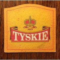 Подставка под пиво Tyskie No 9