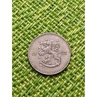 Финляндия 25 пенни 1927 (тир 1млн120000шт 3место за 20 лет тиража)