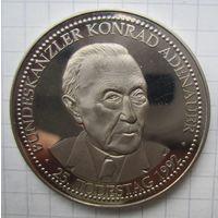 Конрад Аденауэр. Медали, Жетоны, Подвесы. По вашей цене  .5-50