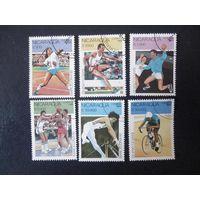 Олимпийские игры в Барселоне 1990 (Никарагуа) 6 марок