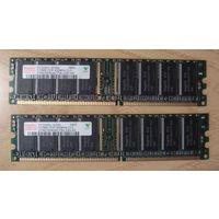 Память PC3200 512MB 6шт