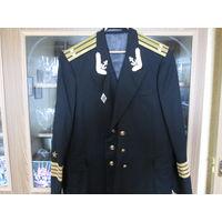Китель ВМФ.Капитана второго ранга.Шерсть.