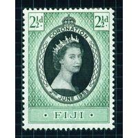 1953 Фиджи 122 Коронация Елизаветы II