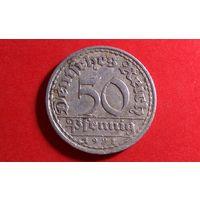 50 пфеннигов 1921. Германия.