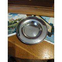 Лот с рубля - 179 Блюдце Серебрение Клейма Без минимальной цены Большой Аукцион!