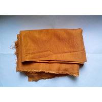 Ткань костюмно-плательная оранжевая