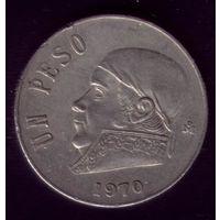 1 Песо 1970 год Мексика