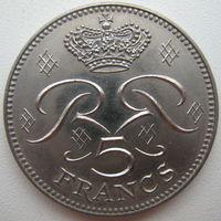 Монако 5 франков 1982 г.