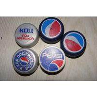 Пробка ПЭТ Pepsi. Цена за 1 шт.