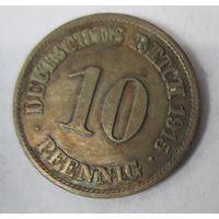 Германия. 10 пфеннигов 1915 A. 1-77