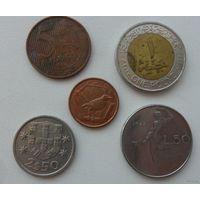 Набор монет 5 /цена за все/