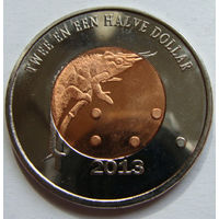 О.Саба 2,5 доллара 2013 г