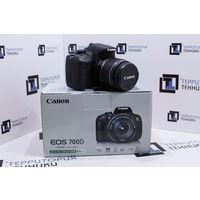 Зеркальный фотоаппарат Canon EOS 700D Kit 18-55 IS II (18 Мп, сенсорный поворотный экран). Гарантия