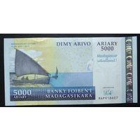 Мадагаскар. 5000 ариари 2008 Юбилейная [UNC]