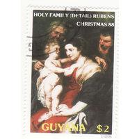 Святое семейство, Рубенс 1988 год