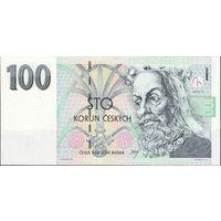Чехия 100 крон 1997 года. Серия G. Пресс! Состояние UNC!