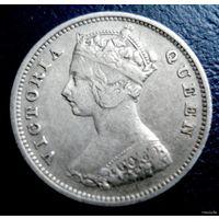 Гонконг (колония Великобритании). 10 центов 1899 год.