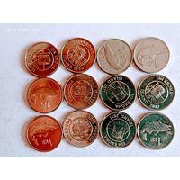 Монеты Исландии с рубля.
