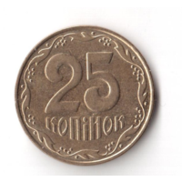 25 копеек 2010 год Украина