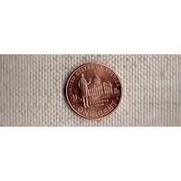 США 1 цент 2009/Карьера в Иллинойсе/статуя(Ab)