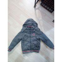 Куртка детская демисезонная на 4-6 лет