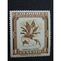 Колумбия 1949 г. Флора.