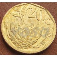 4993: 20 центов 1994 ЮАР