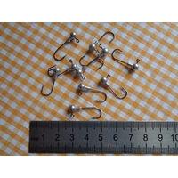 Крючки рыболовные (10 шт., свинцовая головка)