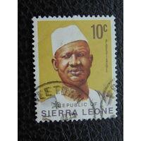 Сьерра- Леоне. Известные люди.