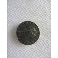 50 лир 1977R Италия КМ# 95.1 нержавеющая сталь